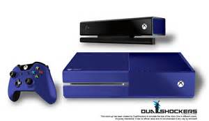 Blue xbox one here s how the xbox one could look in 26 beautiful