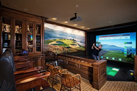 golf home decor 10 awesome man cave ideas