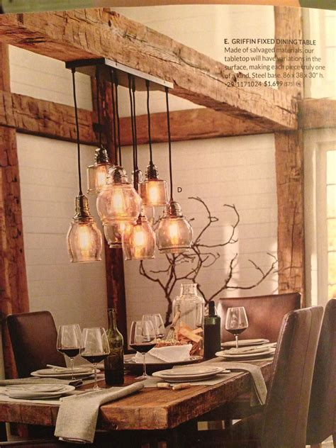 kitchen table light fixture ideas love the rustic table and beamwork kitchen remodel