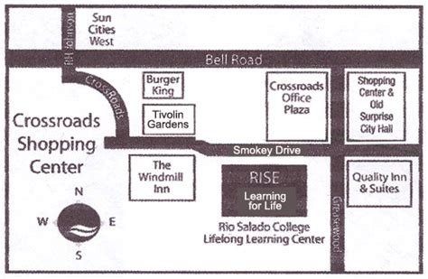 easy maps and directions directions contact info rise salado education