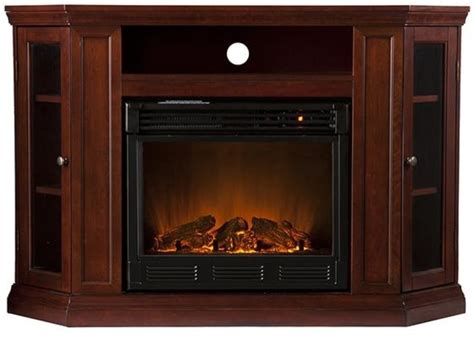 brentwood media electric fireplace electric brick