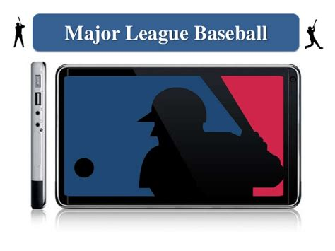 mlb mobile mlb major league baseball mobile presentation