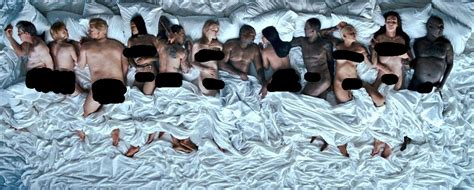 kanye west in bed kanye west famous official music video rap dose