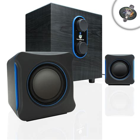 Speaker Pc gaming computer speaker system w usb power subwoofer