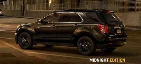 chevy equinox midnight edition 2017 equinox midnight and sport canadian release date
