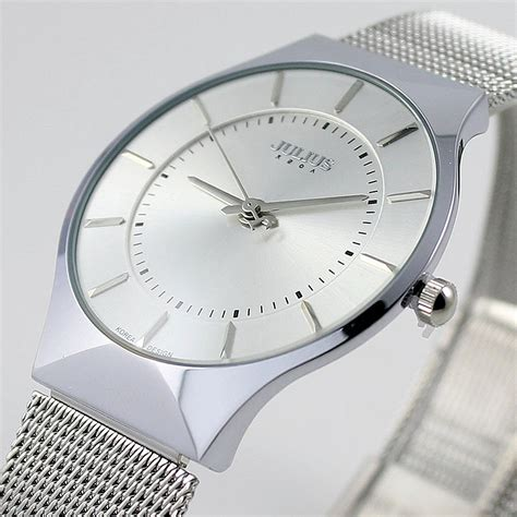 fashion top luxury brand julius watches stainless