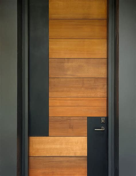 Modern Wood Door | 50 modern front door designs