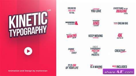 kinetic typography tutorial flash cs6 videohive kinetic typography 20578796 187 free after effects