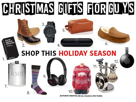 holiday gifts for guys newly ag fashion food more