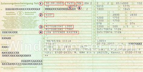 Fahrzeugschein Im Auto by Hilfe Bei Der Richtigen Fahrzeugauswahl Windabweiser
