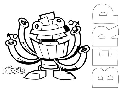 free lego mixel coloring pages
