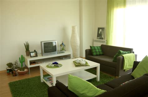 imagenes salones verdes color del sofa que pegue con verde pistacho decorar tu