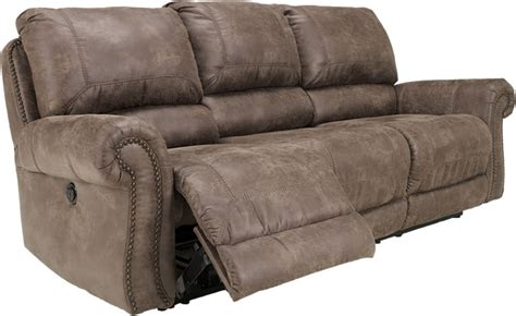 ashley furniture leather nailhead sofa leather reclining sofa store chicago