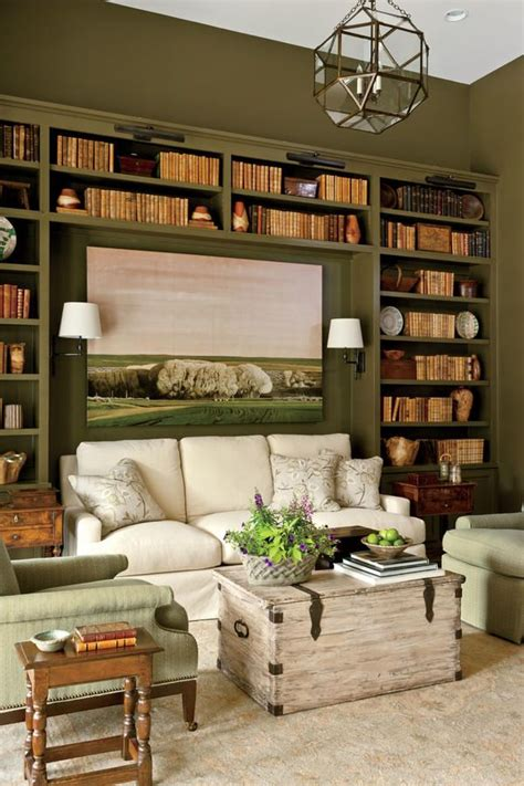25 best ideas about living room bookshelves on