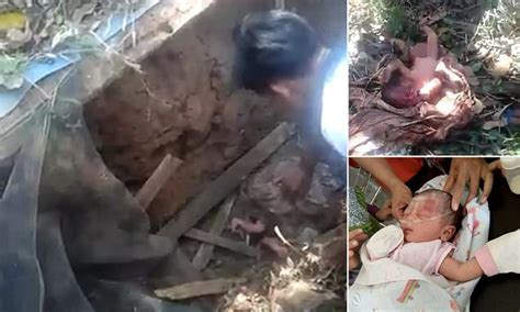 baby buried in backyard baby rescued after being buried alive in a septic tank in