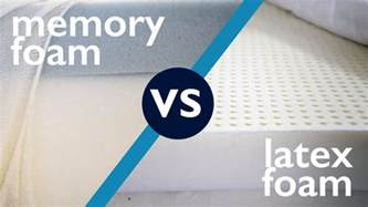 vs memory foam sleepopolis