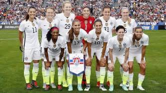 The starting lineup for the united states women s national soccer team