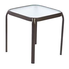 big lots side tables 16 quot square glass stack side table at big lots