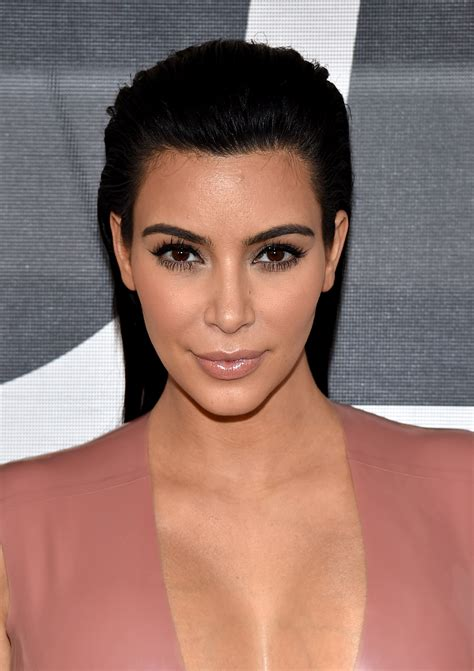 what face shape does kim kardashian have here s how to get the best eyebrows for your face shape