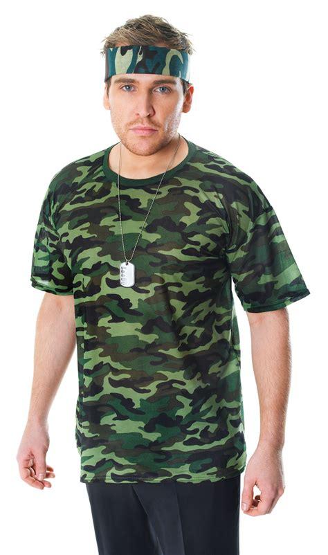 Yura Dress Original By Emmaqueen mens camouflage army fancy dress costume t shirt top