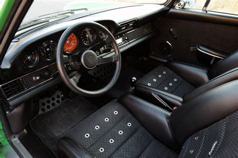 Classic Car With Modern Interior by Singer Design Classic Porsche 911 With Modern Technology Car Tuning