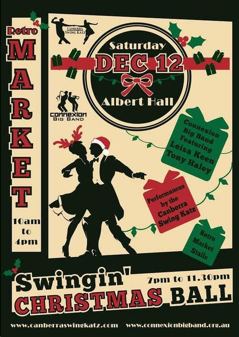 Retro Market Swingin Christmas Ball Canberra