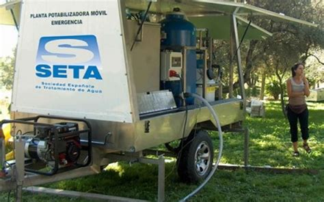 espanola emergency room eurofinsa grupo seta and roja espa 241 ola send 7 100 built mobile water treatment