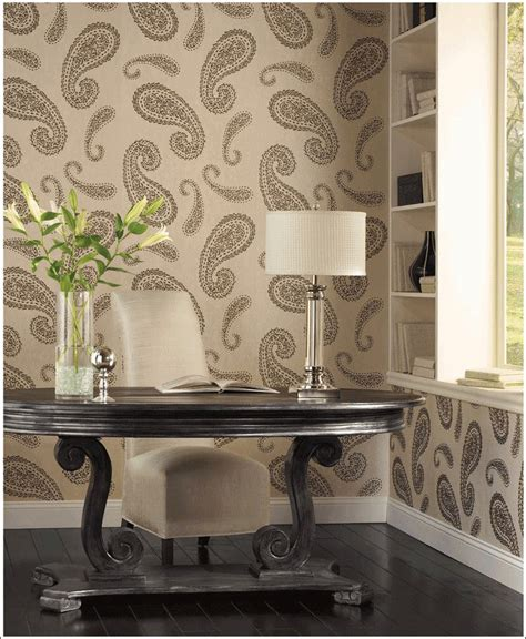 interior design  paisley pattern