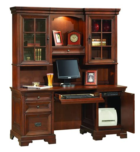 credenza desk with hutch the osona credenza desk with hutch 3261 traditional