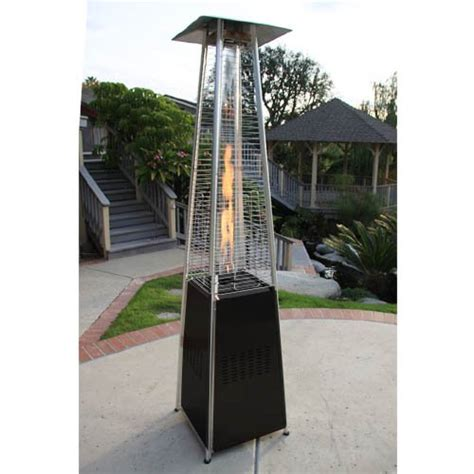 Garden Radiance Grp4000bk Dancing Flames Pyramid Outdoor Patio Heater Pyramid