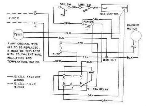wiring diagram for duo therm rv thermostat coleman rv