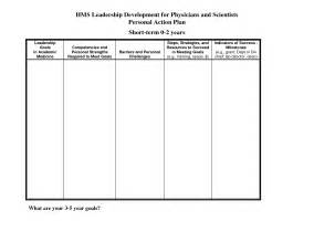 personal leadership plan template best photos of personal development plan personal