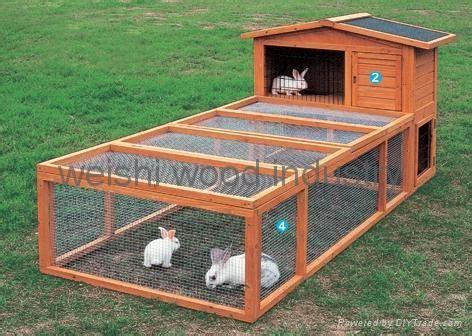 woodworking diy rabbit hutch  run plans plans