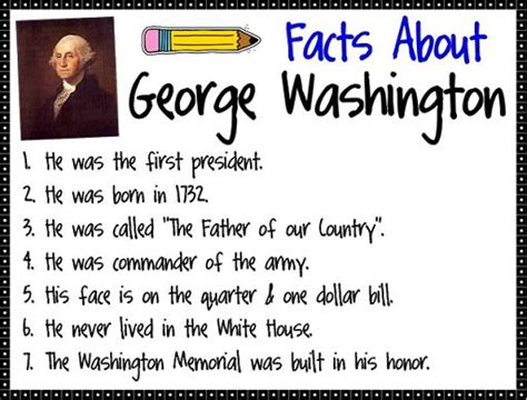 George Washington Mba Questions by 1st Grade George Washington 1st Grade George Reading