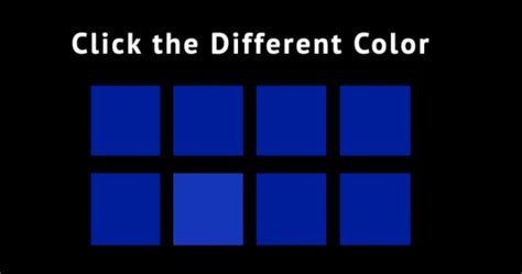 spot the different color quiz take this perfectionism test what level are you
