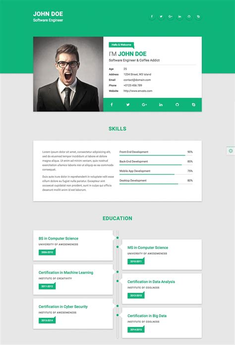Web Resume Letters Free Sle Letters Best Resume Template Websites