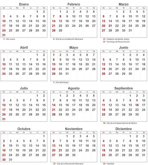 Calendario X Mes 2016 Search Results For Calendario 2016 Mexico Con Dias