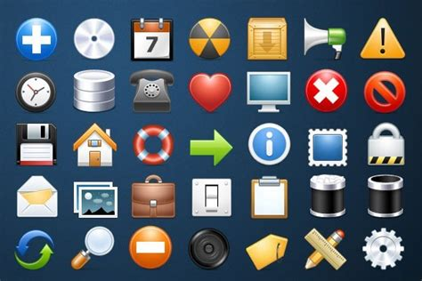 30 free icon sets for graphic and web designers download now