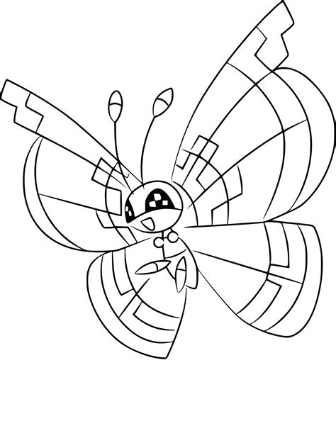 Coloriage Prismillon Pokemon 224 Imprimer
