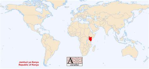 kenya on a world map world atlas the sovereign states of the world kenya kenya