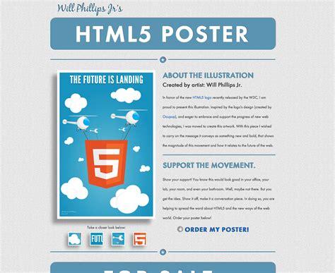 design poster website sleek design studio html5 posters