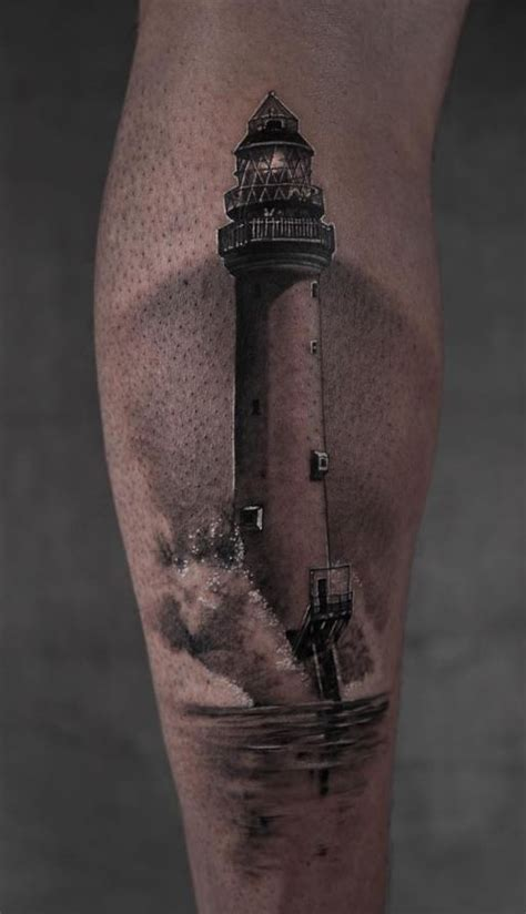 lighthouse tattoo inkstylemag