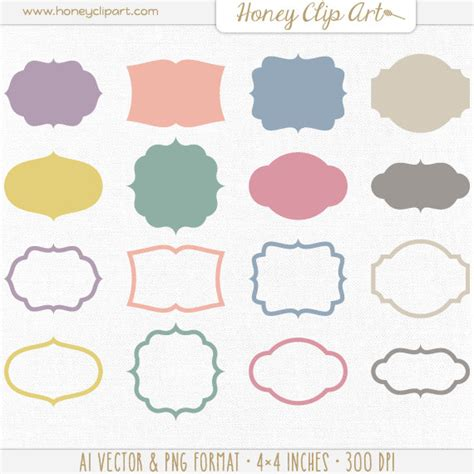 svg pattern tag vintage vector label clip art retro vector frame shapes