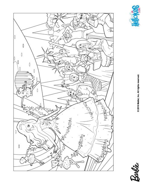 barbie models coloring pages hellokids com