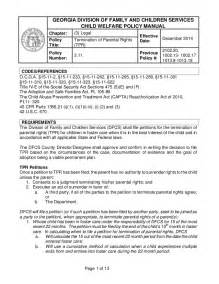 3 11 termination of parental rights tpr