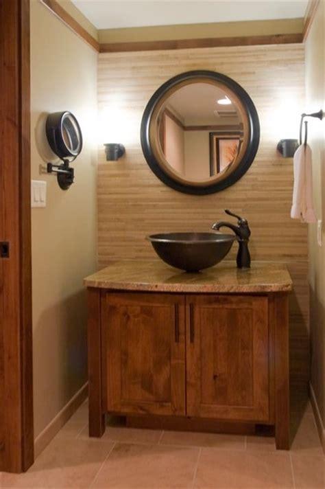Primitive Decorating Ideas For Bathroom by Rustic Contemporary Bathroom
