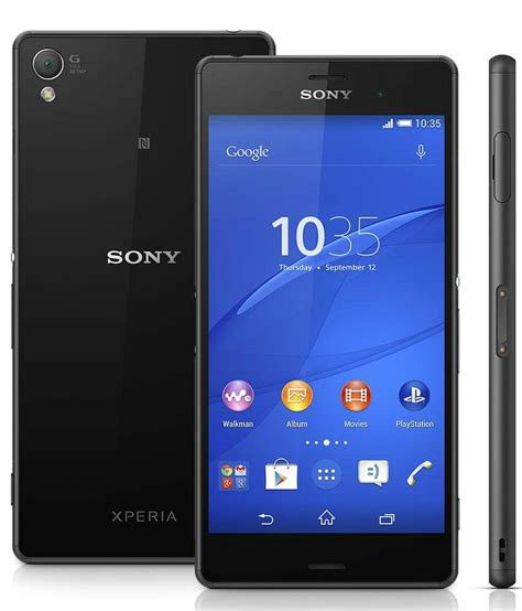 the gallery for gt xperia z3 black