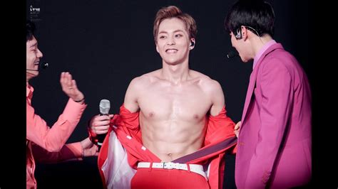 xiumin exo abs shirtless youtube