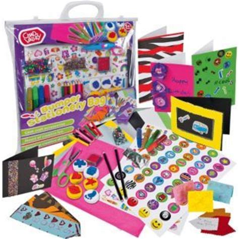 arts and crafts toys for buy chad valley bumper stationery set at argos co uk