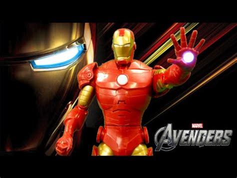 marvel avengers iron man talking action figure